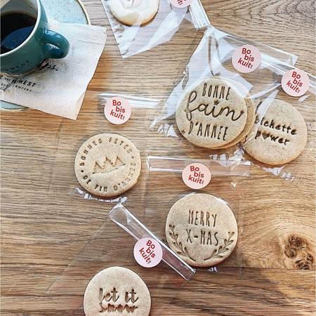 Biscuits Bobiskuit bonne fête de fin d'année