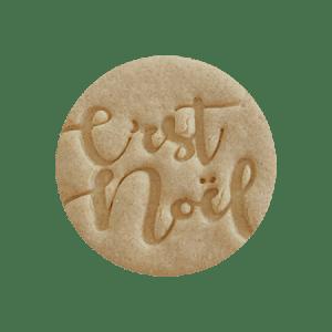 Biscuit personnalisé c'est noël