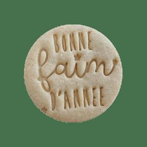 Biscuits personnalisés Bobiskuit bonne faim d'année