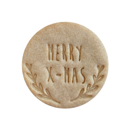 Biscuits personnalisés Bobiskuit Merry X Mas