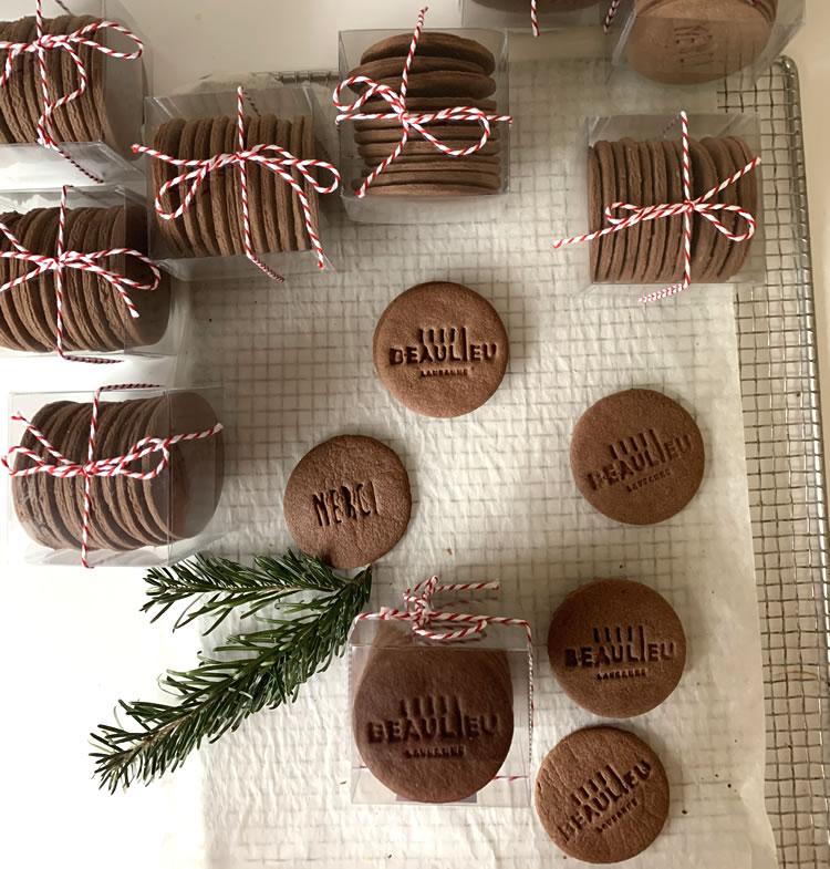 Cadeaux professionnels, biscuits personnalisés, goodies
