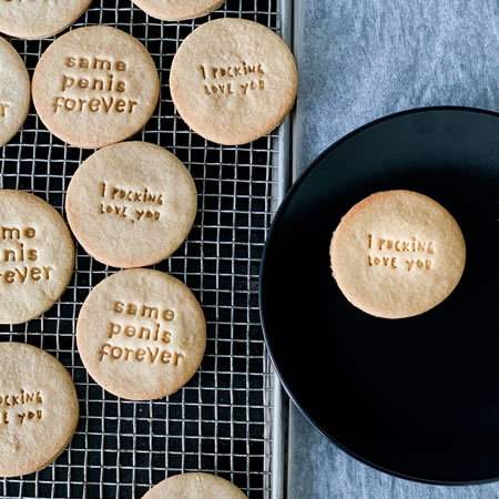 Biscuits personnalisés Bobiskuit Same penis