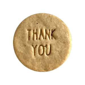 Biscuits personnalisés Bobiskuit Thank You