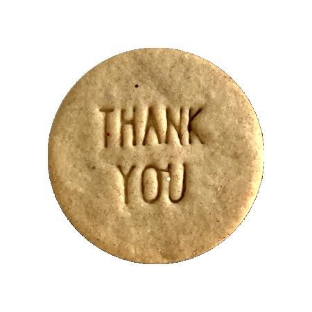 Biscuits personnalisés Bobiskuit Thank You