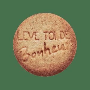 Biscuits personnalisés Bobiskuit Bonheur