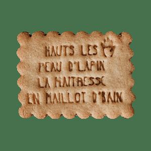 Biscuits personnalisés Bobiskuit Haut les mains