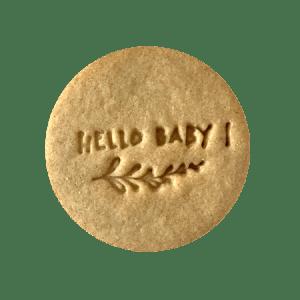 Biscuits personnalisés Bobiskuit Hello Baby