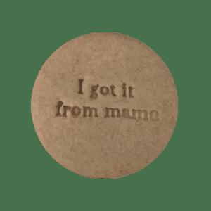 Biscuits personnalisés Bobiskuit Fête des mères