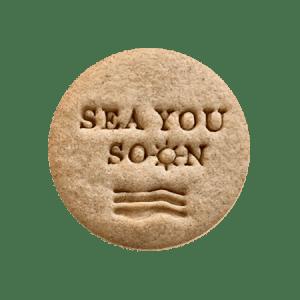 Biscuits personnalisés Bobiskuit Sea you soon
