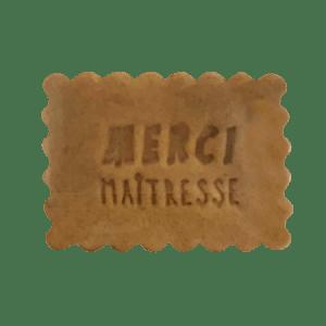 Biscuits Personnalisées Merci Maitresse - Bobiskuit