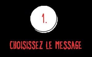 Bobiskuit : choisissez le message